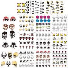 online get cheap skull nail designs aliexpress com alibaba group