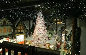 2 story christmas lights 2 story christmas tree in kathe wohlfahrt christmas store picture