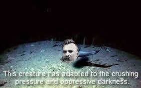 Nietzsche Meme - please try the fish tumblr