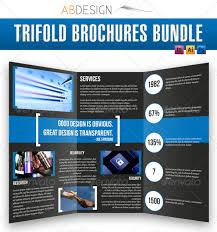 photoshop tri fold brochure template 100 images tri fold