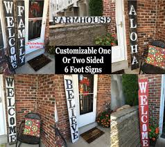 large welcome signs rustic wood welcome signs welcome front