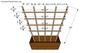 free trellis plans free trellis plans free garden plans how to build garden projects