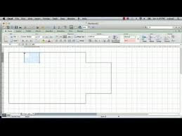 Create Floor Plan With Dimensions How To Make A Floorplan In Excel Microsoft Excel Tips Youtube