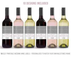 wedding gift ideas for groom wedding gift ideas for the and groom wine label milestone