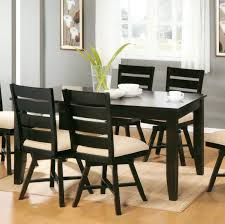 White Wooden Dining Table And Chairs Unfinished White Wood Dining Chairs Circle White And Wood