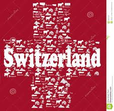 Flag Red With White Cross Switzerland Icons Flag Stock Photo Image Of Symbols 39421230