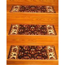 natural area rugs com natural area rugs handcrafted summit carpet stair treads u00279 x 2 u00275