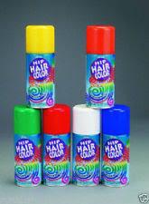 halloween colored hair spray ebay