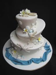 love my weddings beach wedding cake