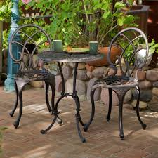 Copper Bistro Chair Metal Patio Chair 9 Hawking 3 Palms Aluminum Copper Bistro