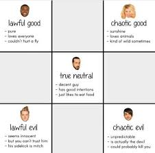 Go Die Meme - help someone sorted the ptx members into d d categories i will