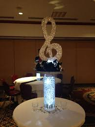 Centerpieces Sweet 16 by Image Result For Microphone Centerpieces Manly 40th Pinterest