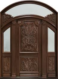 Carved Exterior Doors Custom Carved Exterior Doors Exterior Doors Ideas