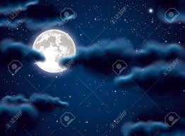 moon and clouds royalty free cliparts vectors and stock