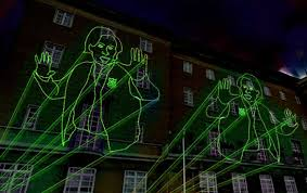 amazing outdoor laser lights rate projector