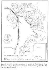 Map Of Southern Arizona by Hohokam Indians Of The Tucson Basin Chapter 1 University Of