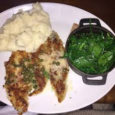 parmesan crusted wild alaskan sand dabs w lemon butter and capers