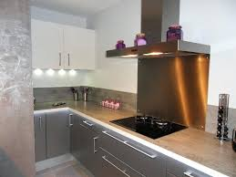 plan de travail cuisine gris cuisine grise avec plan de travail noir plan travail cuisine