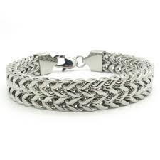 stainless steel snake bracelet images 316l stainless steel quot curb snake quot bracelet blown biker jpeg