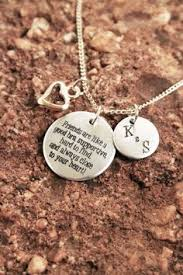 personalized engraved jewelry 2 necklace distance handsted necklace personalized