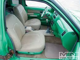 nissan frontier interior mods 2000 nissan frontier custom nissan trucks mini truckin u0027 magazine
