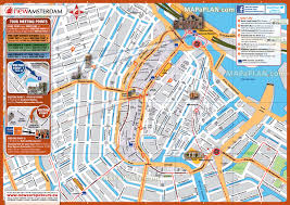 Map Of New York City Printable by Amsterdam Maps Top Tourist Attractions Free Printable City
