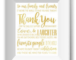 wedding quotes about family thank you quote etsy