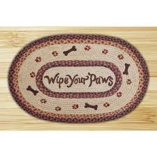 Mohawk Home Wipe Your Paws Paw Print Rug Wayfair