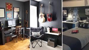 chambre rock lacase mu idées déco tendances chambre garçon thème rock