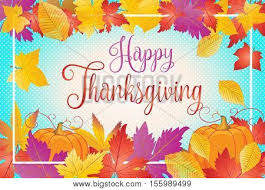 happy thanksgiving day greeting vector photo bigstock