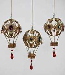 katherine s bead chandelier air balloon steunk ornament