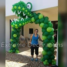 Jurassic Park Decorations Extreme Decorations Extremedecorations Instagram Photos