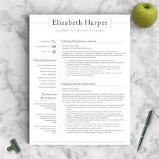 Sample New Teacher Resume by Resumes Designed For Teachers And Educators Teacher Resume
