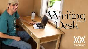 Free Wood Office Desk Plans by Make A Quaint And Charming Writing Desk Free Woodworking Plans