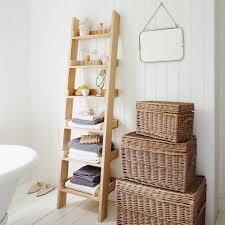 small white bathroom ladder shelf brightpulse us