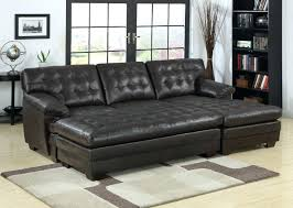 Tufted Sectional Sofa Chaise Lounges Bedroom Black Leather Tufted Sectional Sofa Storage