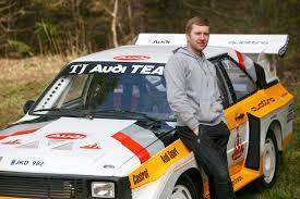 audi rally kaunietis tik iš nuotraukų atkūrė legendinio ralio automobilio