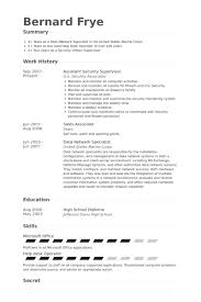 Resume Examples For Security Guard by Security Supervisor Resume Samples Visualcv Resume Samples Database