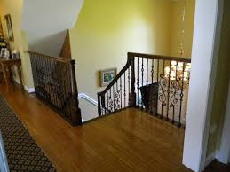 Replacement Stair Banisters Wood Stairs And Rails And Iron Balusters