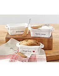ceramic bread loaf pans bakeware home kitchen