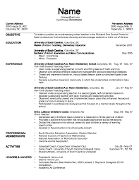 exle of teaching resume exle of pre k resume http exleresumecv org