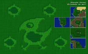Final Fantasy 2 World Map by Final Fantasy 4 Maps