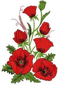Flower Designs For Embroidery Poppies Free Embroidery Design Free Machine Embroidery Designs