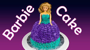 learn to decorate cakes at home barbie cake princess cake how to make a barbie cake by cookies