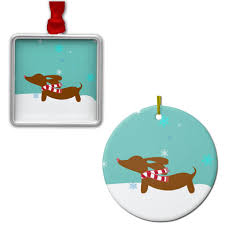 wiener dog christmas tree ornaments u2013 the smoothe store