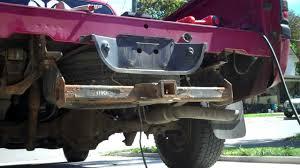 2004 dodge dakota rear bumper diy 1998 dodge ram 1500 rollpan install