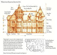 Department Store Floor Plan Richardsonian Romanesque Department Store By Built4ever On Deviantart