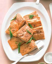 Seafood Recipes For Entertaining Martha by Salmon With Tarragon Yogurt Sauce