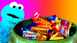 halloween cookie monster halloween scary prank candy bowl surprise trick or treat with