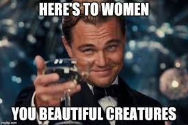 You Are Beautiful Meme - leonardo dicaprio cheers meme imgflip